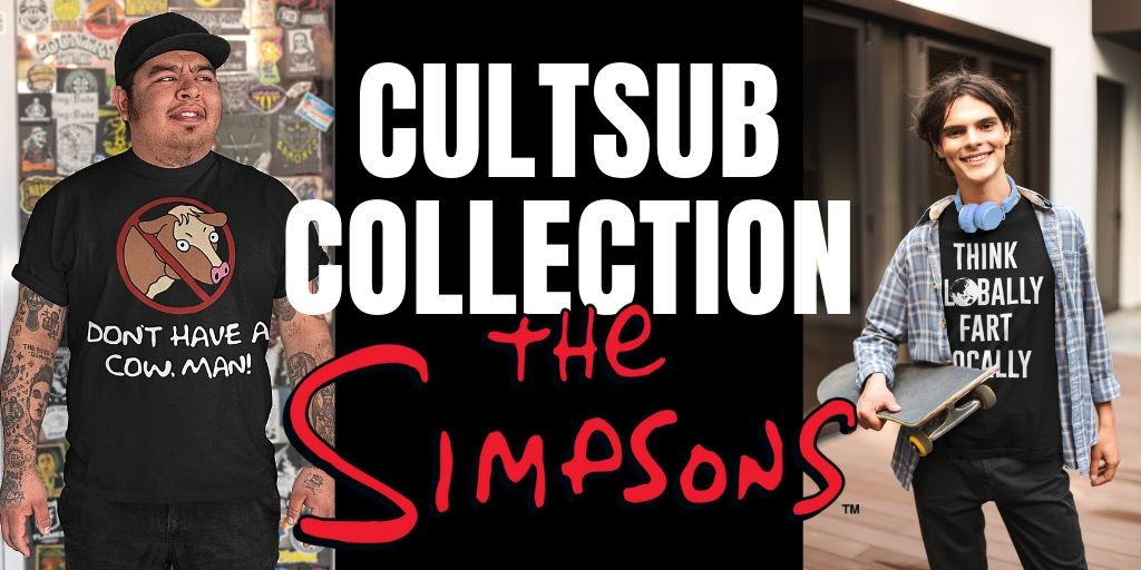 CultSub T-Shirts The Simpsons Bart Homemade Collection
