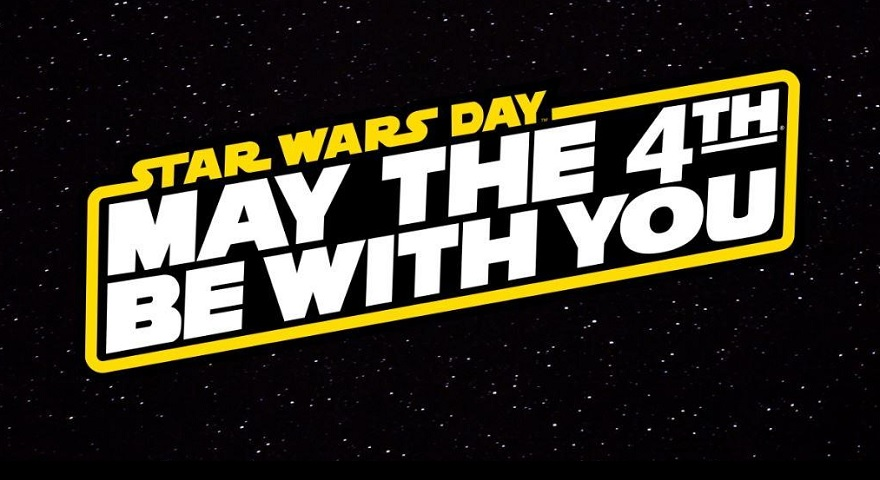 Star Wars Day May The Forth Be With You Logo